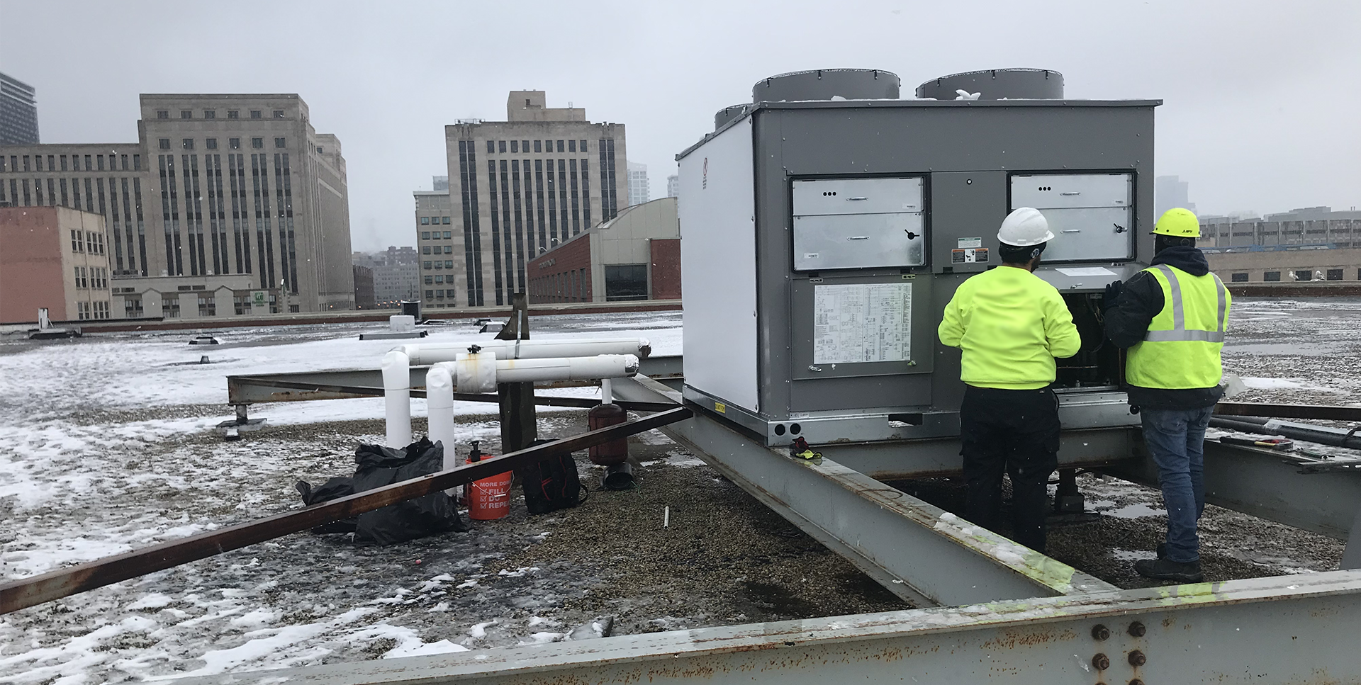 NHG Commercial Rooftop Unit