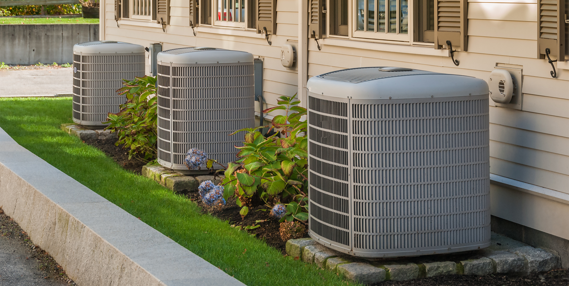 NHG Home HVAC Units Outdoors