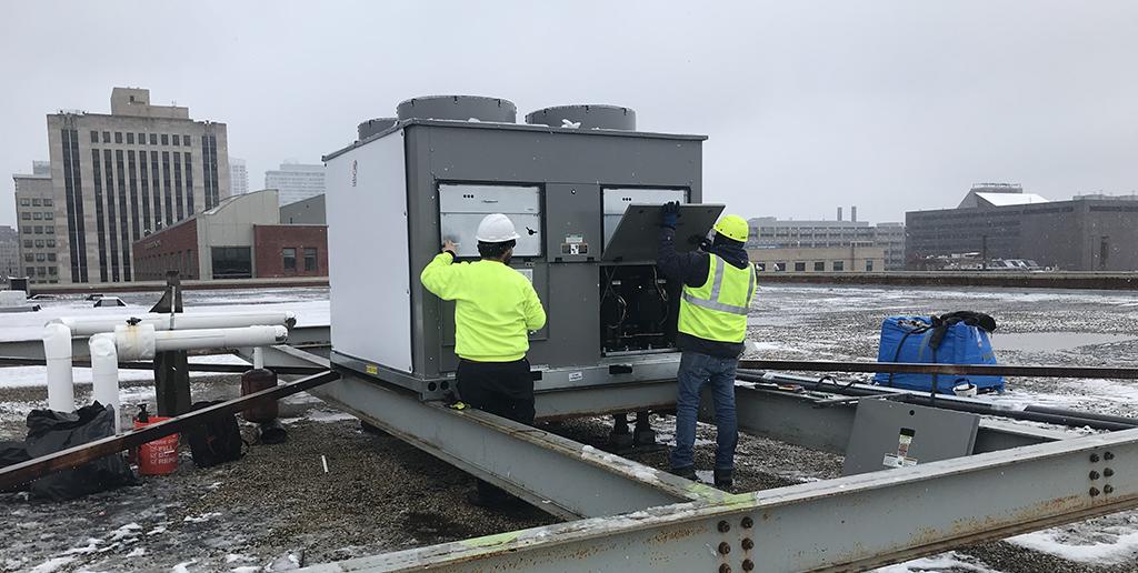 NHG Rooftop Installation