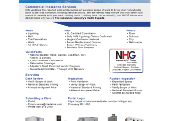 CIS HVAC Flyer