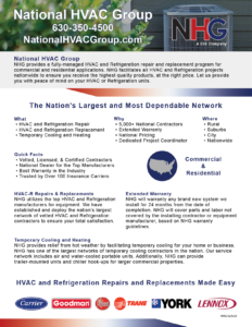 NHG About Us Flyer